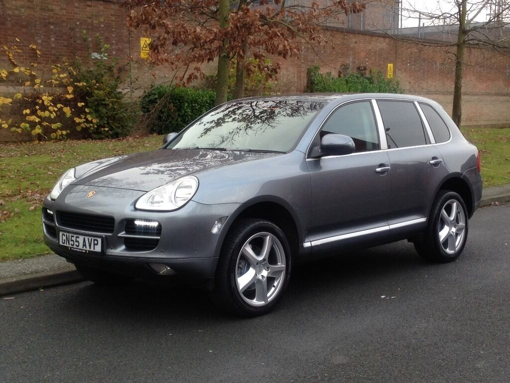 2005 porsche cayenne 3 2 v6 tiptronic s automatic petrol awd 5dr suv in hall green west. Black Bedroom Furniture Sets. Home Design Ideas