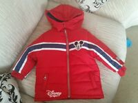 Disney Mickey Mouse padded coat new without tags X