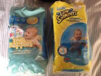 Baby swim nappies x15