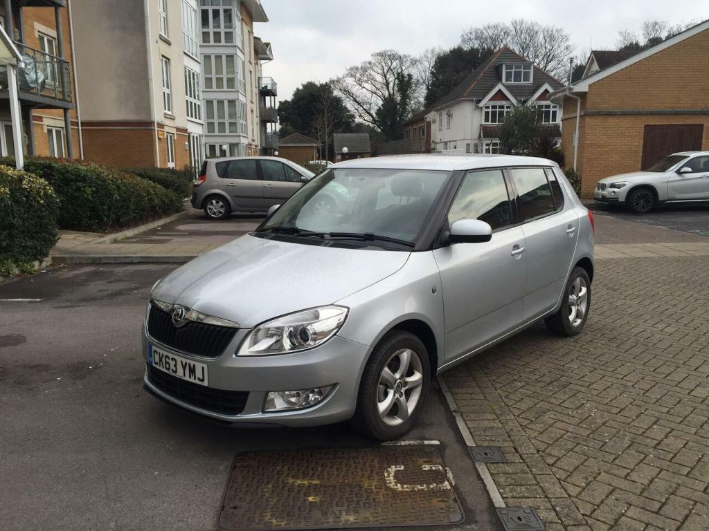Lovely 2013 Skoda Fabia 1.2 SE Low mileage just 744 Cat C 1 Year mot Excellent condition