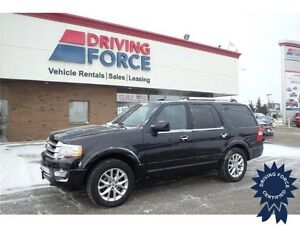 2015 Ford Expedition Limited 8 Passenger, 42,443 KMs, 3.5L V6