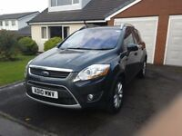 Ford Kuga Titanium Track 163, Service history, full leather seats, Sat nav and panoramic roof