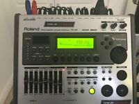 TD20 expanded drum module c/w rack mount and TD20 clamp for sale  Brentry, Bristol