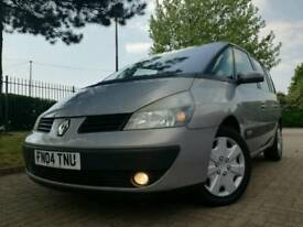 2004/04 RENAULT ESPACE EXPRESSION 2.2 DCI 7 SEATER IMMACULATE FULL HISTORY FULL MOT zafira galaxy