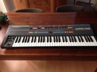Roland Juno-106 Synthesiser in excellent condition with flight case