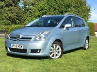 Toyota Corolla Verso T Spirit D4D Diesel. 7 Seats and Low mileage With Rear DVD