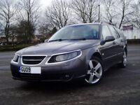 2009 Saab 9-5 Turbo Edition 1.9Tid Estate. Cambelt Done. Extensive History. Mot September. Leather.