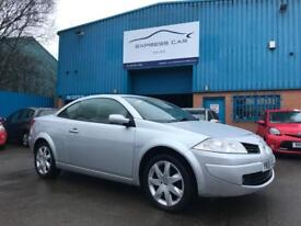 2008 RENAULT MEGANE FIFJI CONVERTIBLE 1.6 PETROL # HEATED LEATHERS # PANORAMIC ROOF # FSH #HPI CLEAR