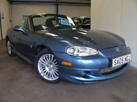 2005 Mazda MX5 Euphonic Artic Edition. Fully Loaded, 2 Lady Owners, Very Low Miles.