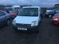 2008 58 reg ford transit connect full service history cambelt changed Lovely driver side door