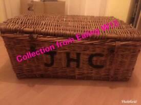 Wicker Vintage Laundry Basket