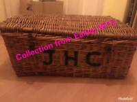 Wicker Vintage Laundry Basket