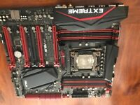 ASUS ROG RAMPAGE V EXTREME Motherboard (faulty)
