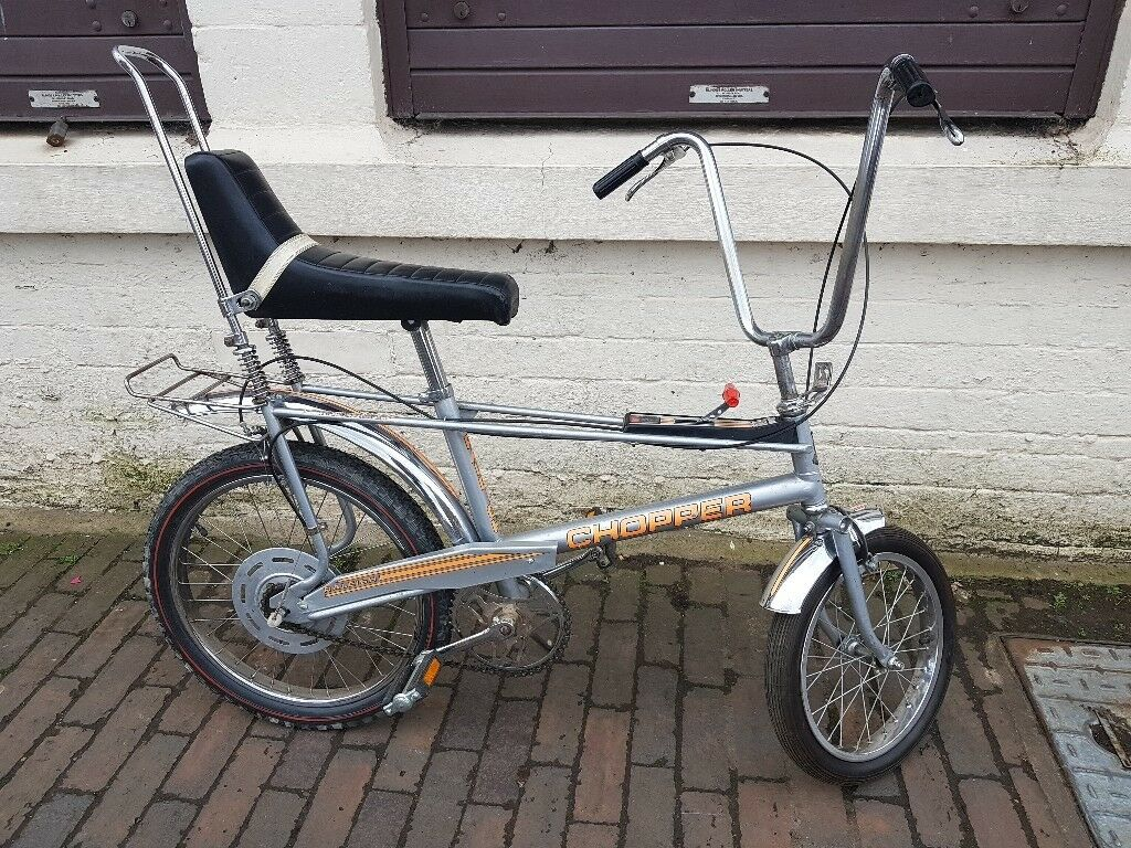 Vintage Iconic 1970s Mk2 Raleigh Chopper 3 Speed Bicycle
