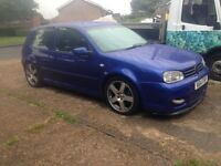 golf gti turbo very quick swap 4 bmw or sale