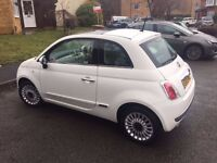 Fiat 500 1.2 Lounge 3dr (13 Plate)