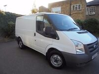 61 REG FORD TRANSIT 85 T260 SWB DIESEL PANEL VAN IN EXCELLENT CONDITION WITH NO VAT