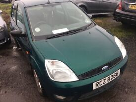2003 (petrol) Ford Fiesta 1,3lt 5 door