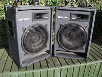 OPUS PRO AUDIO SPEAKERS PAIR 100 WATT