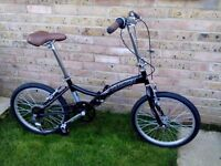 Pair of NEW Kingston Freedom Folding Bikes for sale: great for commuting or camping