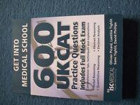 UKCAT -Get into Medical School book. Medicine at University