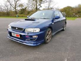 Subaru impreza turbo sti 2000 awd 12 months mot. 280bhp blue 2000 not blobeye sti wrx import