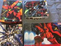 Gundam Models - MG kits