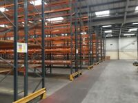 JOB LOT DEXION pallet racking excellent condition ( pallet racking , industrial storage )