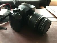 Canon 450D camera body with stabilising 18-55mm lens