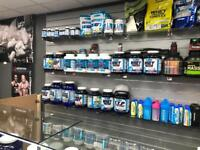 Protein shakes & vitamins & supplements
