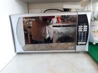 Russell Hobbs Silver Digital Microwave Oven