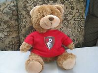 AFC BOURNEMOUTH TEDDY BEAR 12INS LONG