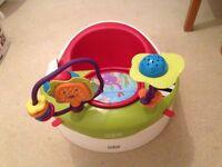 Bumbo Seat, Bouncer & Play Mat