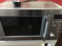 STAINLESS STEEL MICROWAVE. VGC