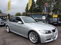 BMW 3 SERIES 2.0 318i M Sport Edition 4dr (silver) 2008