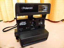 Polaroid One Step Instant Camera