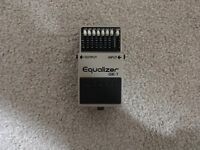 Boss GE 7 - Equalizer Pedal - control your sound and minimise feedback (great with distortion)