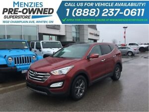 2013 Hyundai Santa Fe Luxury AWD, Bluetooth, Cam, Clean Carproof
