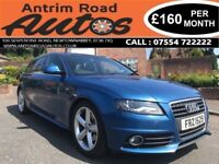 2008 AUDI A4 AVANT S LINE 2.0 TDI ** FULL SERVICE HISTORY ** FINANCE AVAILABLE WITH NO DEPOSIT