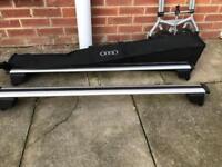 Audi Q5/Q7+ more. roof rack with Audi bag