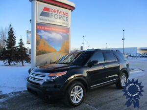 2015 Ford Explorer XLT 7 Passenger 4X4 w/Backup Camera, 3.5L Gas