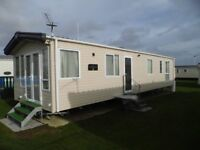 A 8 BERTH 3 BEDROOMS GOLD CARAVAN FOR HIRE ON BUNN LIESURE WEST SANDS PARK IN SELSEY WEST SUSSEX