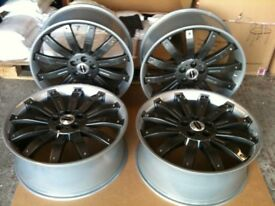4 X Range Rover sport 22 inch Alloy overfinch wheels VW T5 REFURBISHED