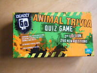 DEADLY 60 ANIMAL TRIVIA QUIZ GAME 2nd Ed BBC EARTH MADE FOR MARKS & SPENCER PLC