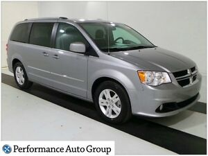 2016 Dodge Grand Caravan Crew * HTD Seats * Bluetooth * Back Up