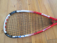 Prince Air O Champ Squash Racket With 2 Spare Grips £40