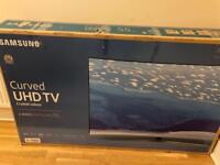 "Samsung 55"" 4k Curved UHD HDR Smart TV"