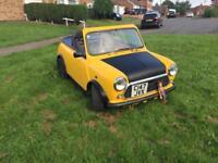 Classic Mini Convertible £3500