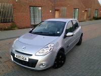 CHEAPEST RENAULT CLIO 1.4 DIESEL 2010 . ONLY 78 K MILES. FREE ROAD TAX. LOW MILEAGE . SUPERB DRIVE