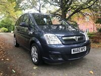 2010 Vauxhall Meriva with 6 months warranty!